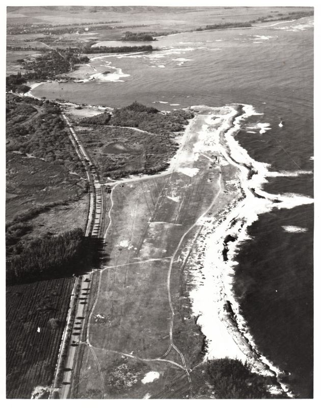 Haleiwa airfield USAMH 2621 1943 -- Provided by the U.S. Army, U.S. Army Museum of Hawaii, Ft. DeRussy