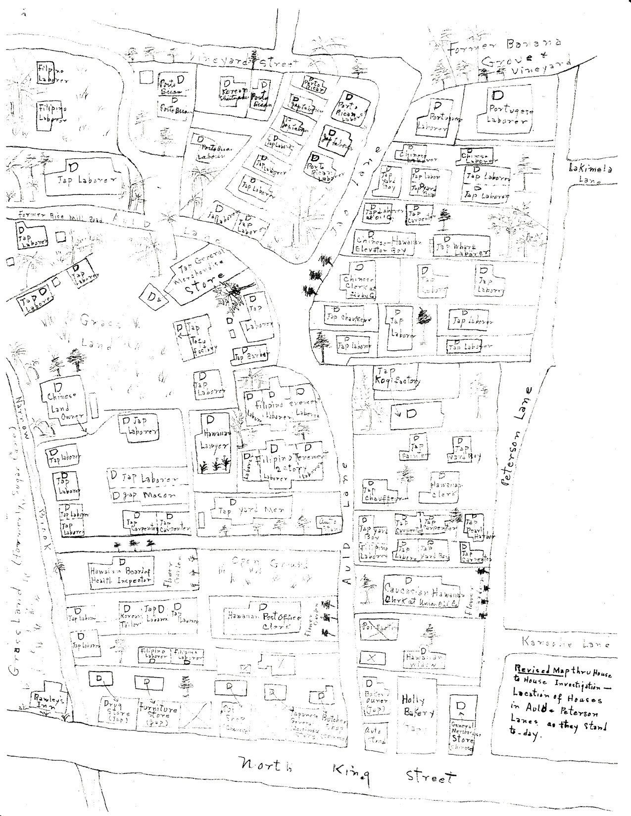 map of Auld Lane_Nakamura, T box A7